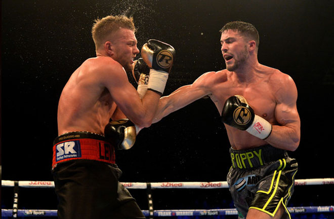 Mark Heffron takes on Liam Williams for the British Title. Photo Credit: Zimbio