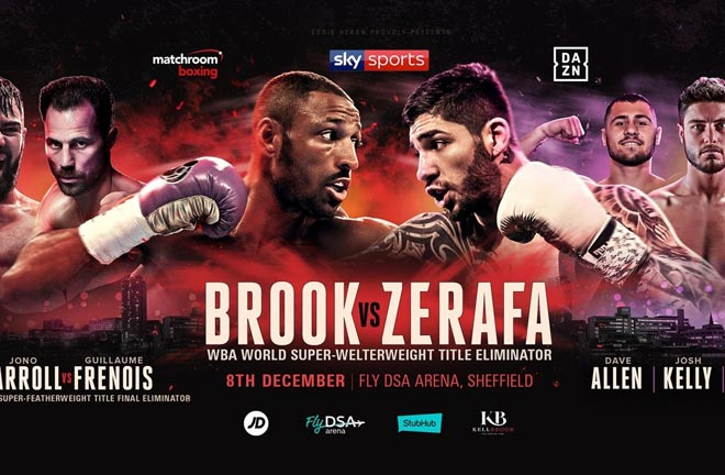 Brook v Zerafa – Undercard Previews & Predictions. Photo Credit: East Side Boxing
