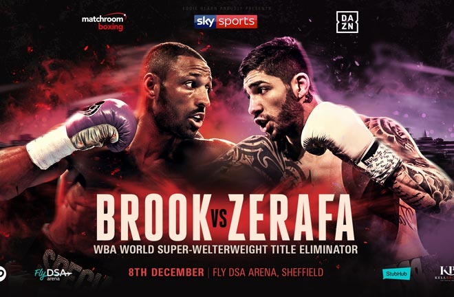 Zerafa believes Brook is underestimating him ahead of their fight this Saturday. Photo Credit: Matchroom Boxing