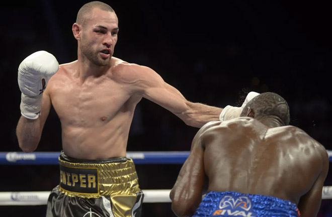 Pedraza will be making his first defense of the WBO lightweight title against Lomachenko. Photo Credit: Bad Left Hook