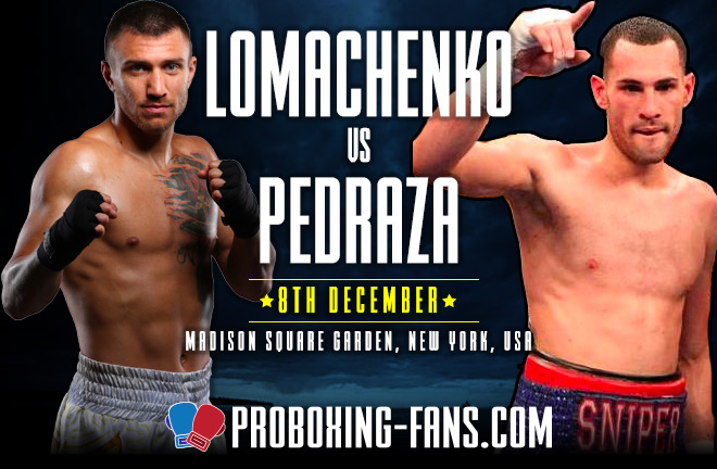 Lomachenko vs. Pedraza – Big Fight Preview and Prediction