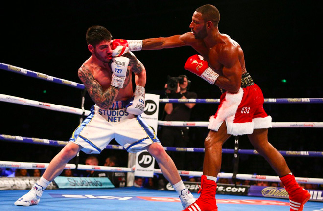 Kell Brook put on a sloppy display against Michael Zerafa last night in Sheffield