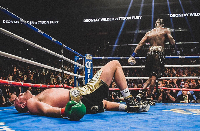 Fury out cold in the 12th when WIlder must've thought he snatched victory from the Gypsy King.