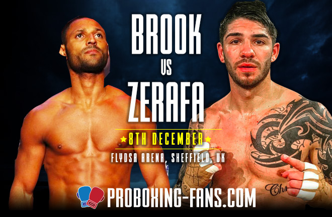 Brook v Zerafa – Big Fight Preview & Prediction