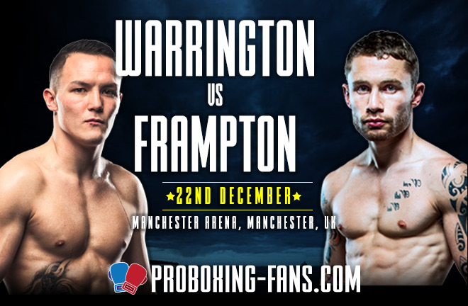 Warrington v Frampton - Big Fight Preview & Prediction