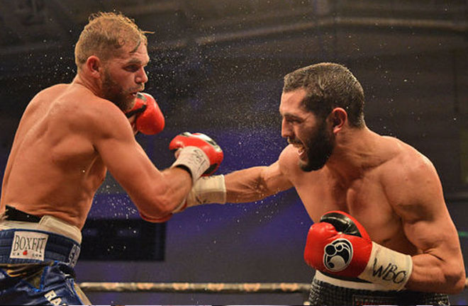 Akavov who previously failed in a bid for the same belt in December 2016 against Saunders. Photo Credit: Daily Express
