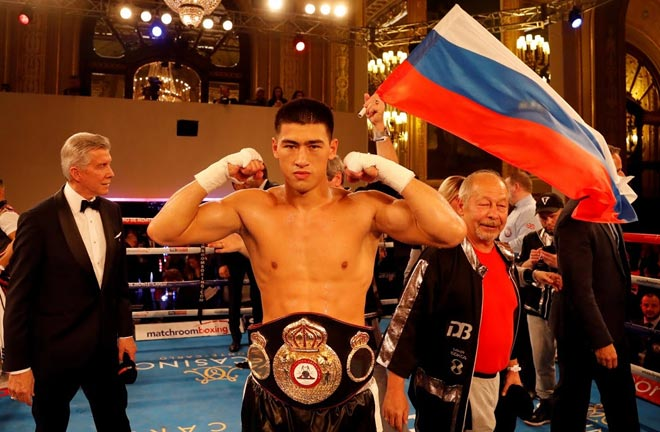 Dmitry Bivol has signed a promotional deal with Matchroom Boxing. Photo Credit: Matchroom Boxing