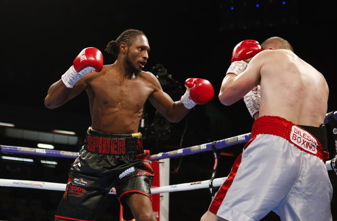 Richards: Jake Ball can't hide forever. Photo Credit: Matchroom Boxing