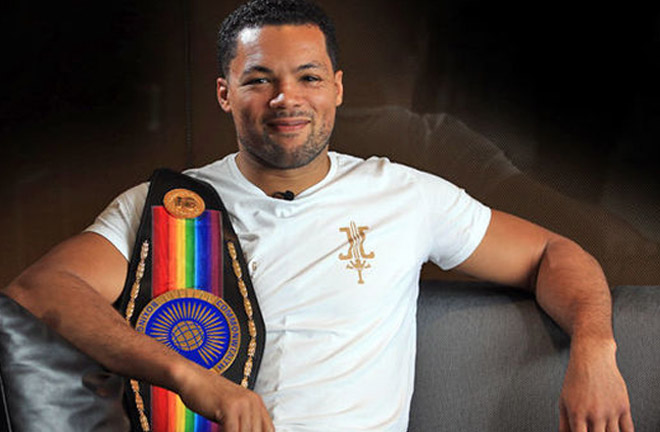 Joe Joyce believes 2019 will be a big year for him. Photo Credit: Daily Express