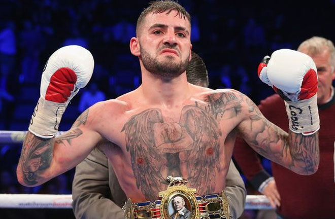 Lewis Ritson will return to the ring in March. Photo Credit: Chronicle Live