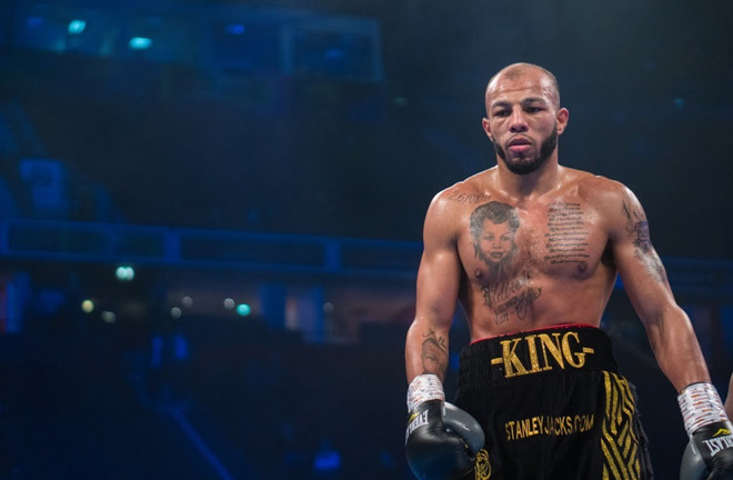 Arthur: I am on the same level as Yarde and Buatsi. Photo Credit: Frank Warren
