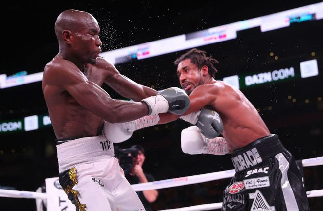 Andrade defeated Kautondokwa. Photo Credit: Sky Sports