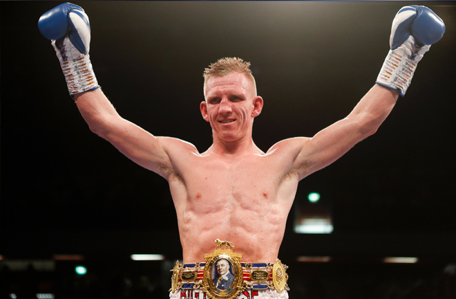 "Ted Cheeseman says rivals Fowler and Fitzgerald must ""step up to the plate"" and ""earn the right"" to face him. Photo Credit: Mathcroom Boxing"