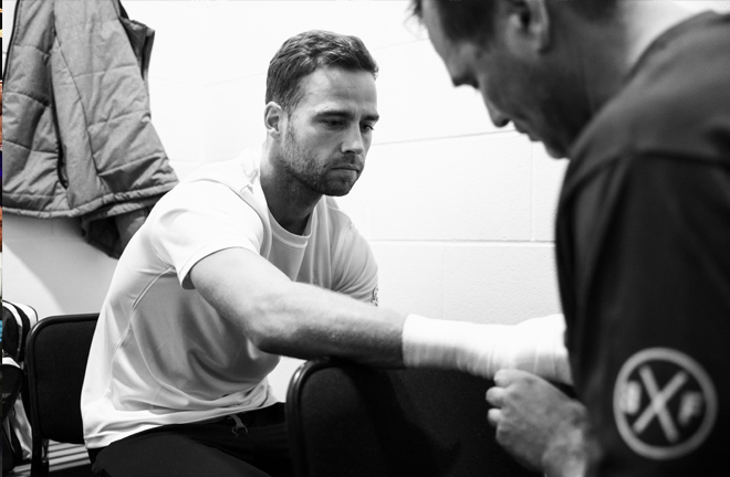 Felix Cash believes winning the Commonwealth Middleweight crown will earn him a shot at the Lonsdale belt currently held by Welshman Liam Williams. Photo Credit: Matchroom Boxing