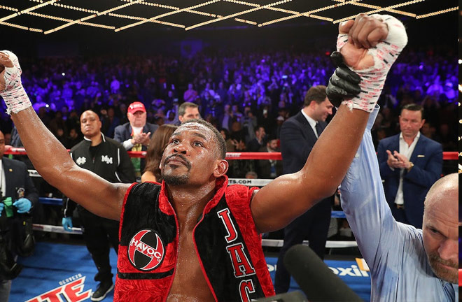 Daniel Jacobs extends the deal with Matchroom Boxing and DAZN. Photo Credit: Golden Boy Promotions