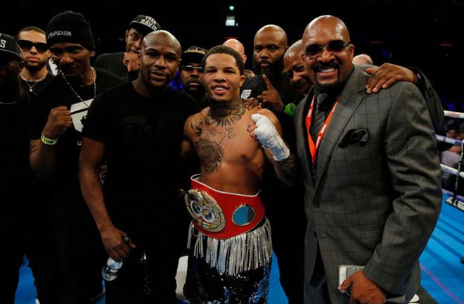 Gervonta Davis overcame Yuriorkis Gamboa, December 28. Photo Credit: The Mirror