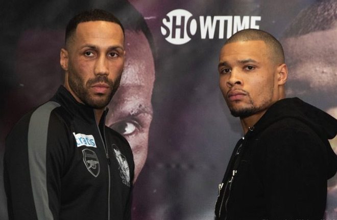 Degale-Eubank Jr go head to head Saturday night who their careers on the line. Photo Credit: Boxing News