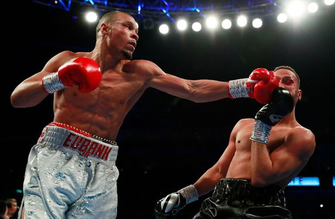 Chris Eubank Jr won via unanimous decision on Saturday night. Photo Credit: Irish Mirror