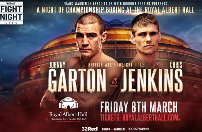 Johnny Garton reflected that his professional career did not get off to the most auspicious beginnings. Photo Credit: Frank Warren