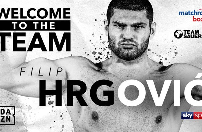 Filip Hrgović. Photo Credit: Matchroom Boxing