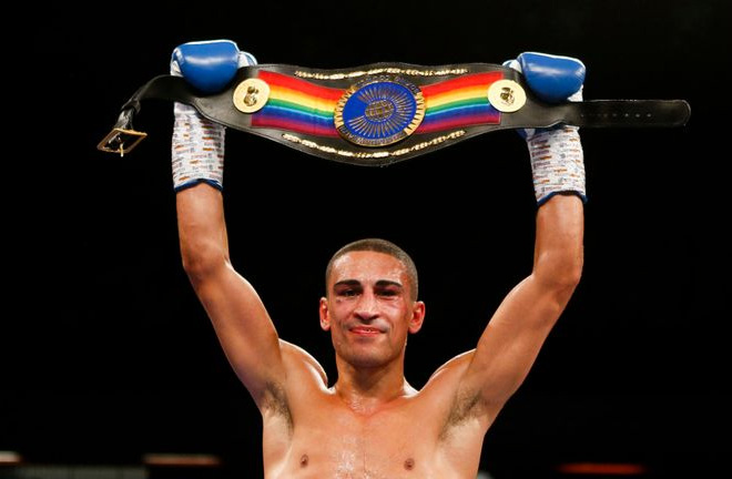 Jordan Gill stopped Ryan Doyle in 2018 to win the Commonwealth featherweight title. Photo Credit: Sports-Life-News