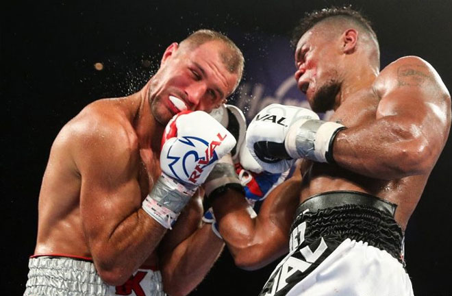 Sergey Kovalev regained the WBO Light Heavyweight Title. Photo Credit: Boxing News