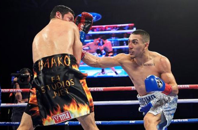 Lopez stopped Magdaleno in the seventh round. Photo Credit: ESPN.com