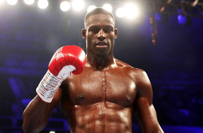 Richard Riakporhe faces Jack Massey for the vacant British title at York Hall on Thursday Credit: Sky Sports