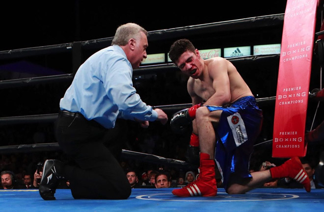 Davis put on a great performance and is hoping to have 3 more fights this year. Photo Credit: East Side Boxing