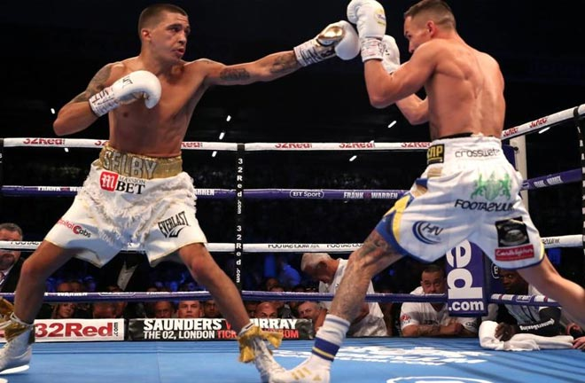 Lee Selby makes his comeback after suffering a defeat to Warrington in 2018. Photo Credit: BBC