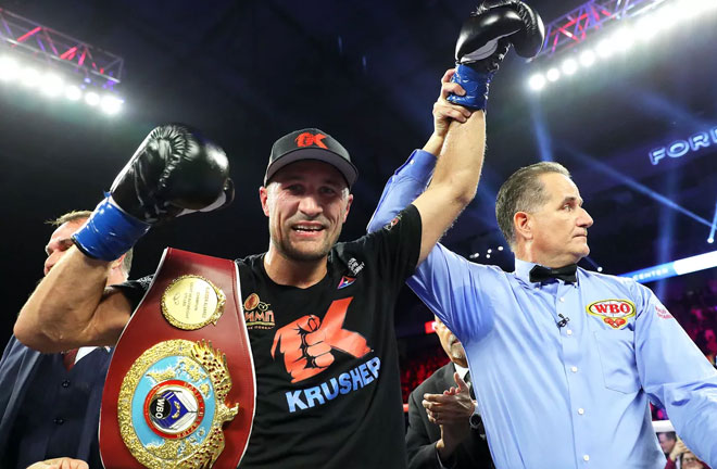 Sergey Kovalev Regains Title with an impressive win over Eleider Alvarez. Photo Credit: Bloody Elbow