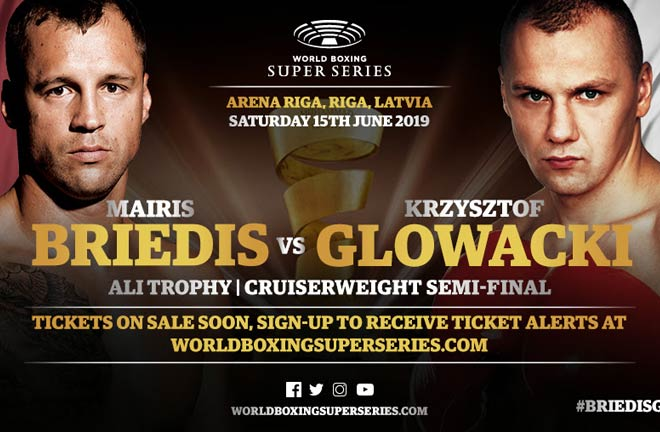 Briedis-Glowacki WBSS Cruiserweight Semi-Final Set for Riga, June 15. Photo Credit: WBSS