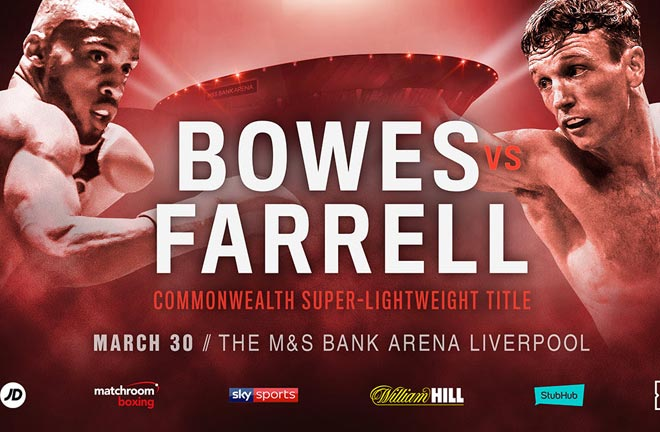 Tom Farrell will challenge Philip Bowes for the Commonwealth Super-Lightweight crown. Photo Credit: Matchroom Boxing