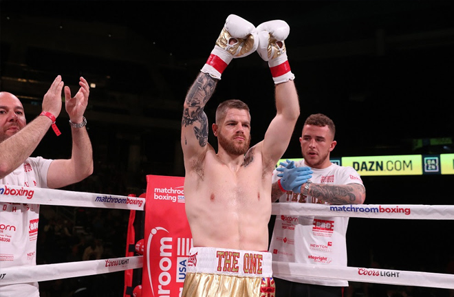 Callum Johnson and Sean Monaghan will clash in a crunch Light-Heavyweight battle. Photo Credit: Matchroom Boxing