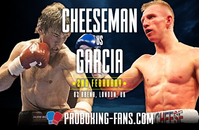 Pro Boxing Fans - Garcia v Cheeseman Big Fight Preview & Prediction.
