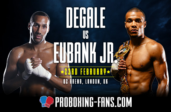Pro Boxing Fans DeGale vs. Eubank Jr. – Big Fight Preview and Prediction.