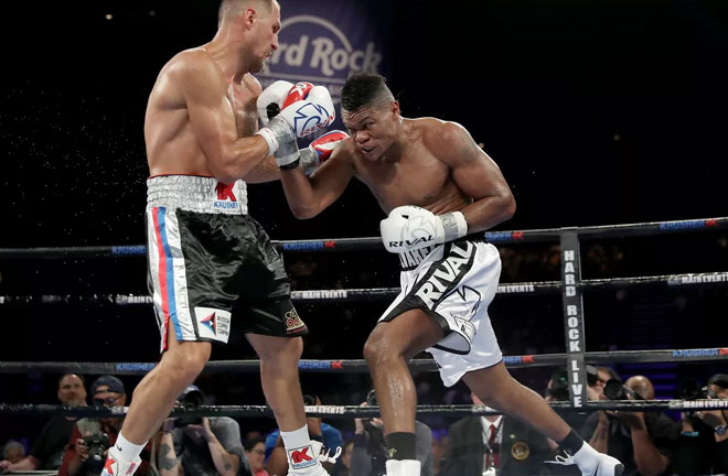 Kovalev put on an impressive performance. Photo Credit: Bloody Elbow