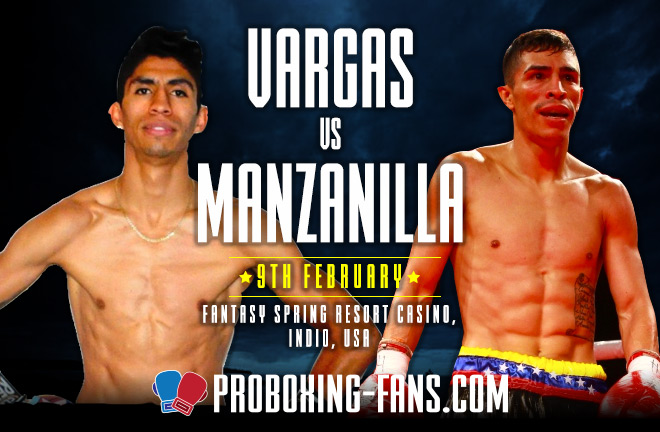 Pro Boxing Fans - Vargas vs Manzanilla Big Fight Preview & Prediction.