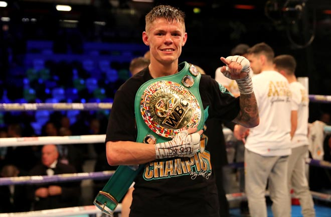 Edwards was successful in his first defence of the WBC world flyweight title. Credit: talkSPORT
