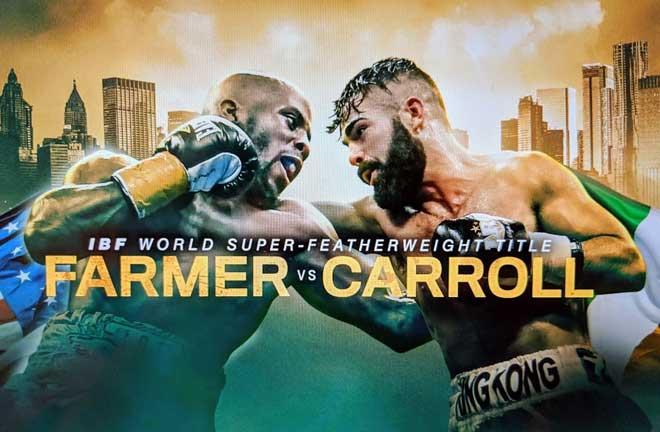 Farmer v Carroll – Big Fight Preview & Prediction. Credit: CordCutters