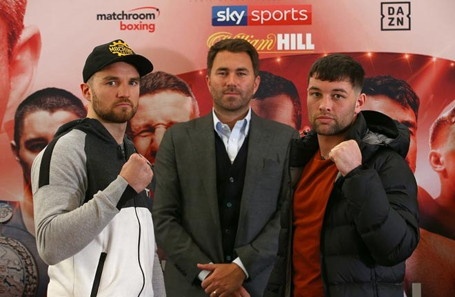 Fowler-Fitzgerald face off, Credit: Sky Sports