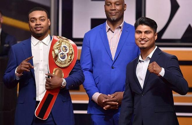 Spence and Garcia will go face-to-face on Saturday night. Credit: Boxing Scene