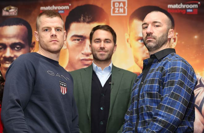 ohnson believes World title would follow Turning Stone win – but a loss would be disaster. Photo Credit: Matchroom Boxing