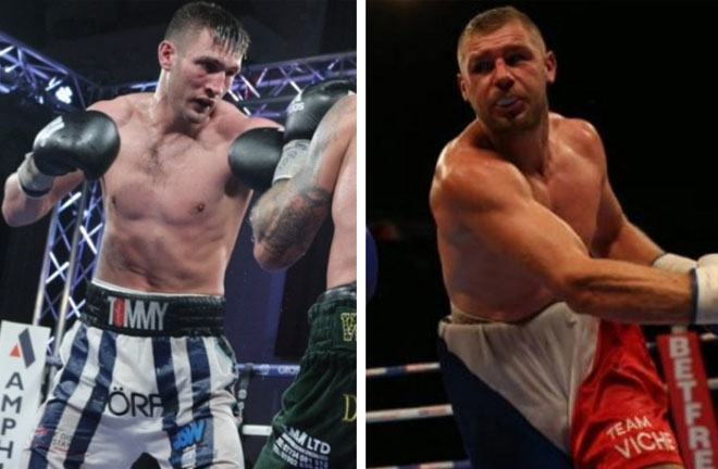 Tommy Langford makes his move up to super-middleweight by facing Frenchman Baptiste Castegnaro. Credit: TR Sports Agency
