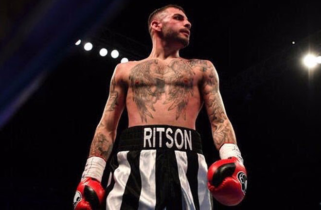 Lewis Ritson has moved up to Super-Lightweight division and will make his debut at 140lbs when he takes on German Argentino Benitez. Credit: Matchroom Boxing