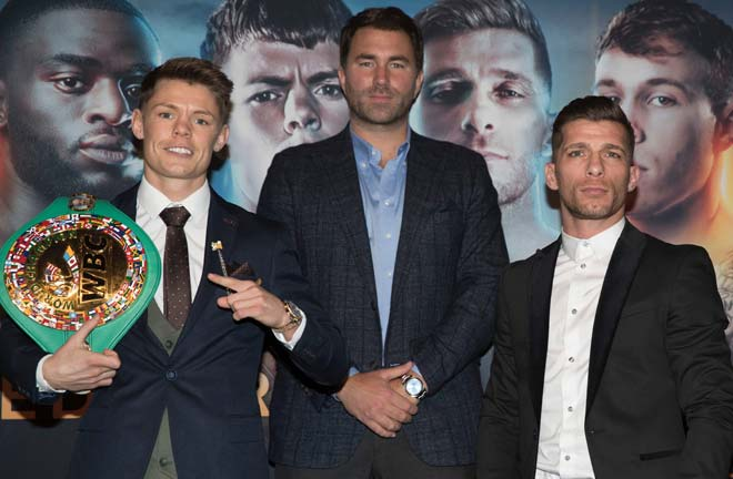 Moreno believes he will become Spain's next champion. Credit: Matchroom Boxing
