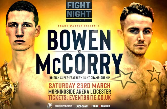 owen is relishing a second shot at top billing the Morningside Arena in Leicester on March 23. Credit: Frank Warren