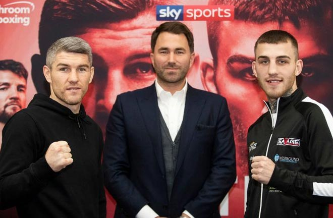 Smith-Eggington both ready for war on Saturday. Credit: Sky Sports