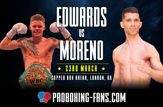 Edwards vs Moreno - Big Fight Preview & Prediction.