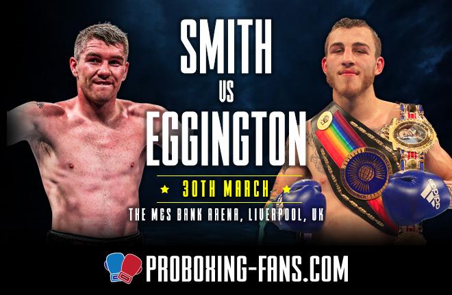 Pro Boxing Fans - Smith v Eggington Big Fight Preview & Prediction.